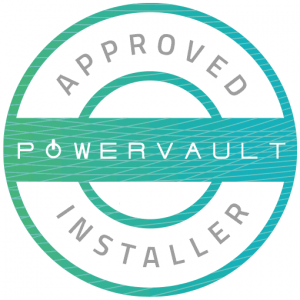 powervault approved installer badge