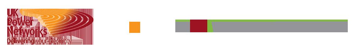 UKPN + Powervault logos